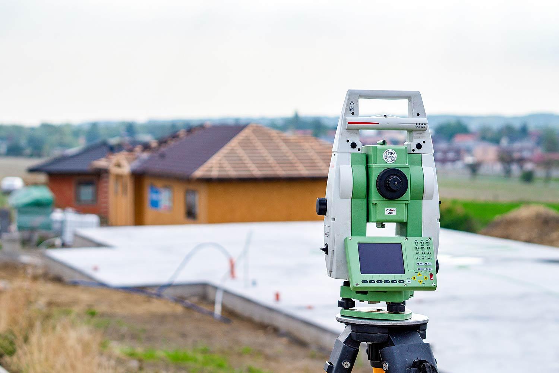 Gebäudeeinmessung - Gebäudenachweis Vermessung für Bauherren - Bauvermessung - Hausbauvermessung